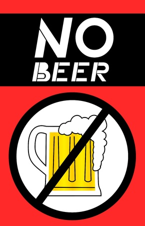 No beer background Vector