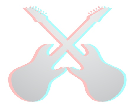 Guitar effect Stock Vector - 14996833