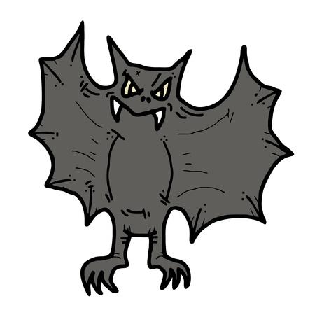 Bat draw Stock Vector - 14996862