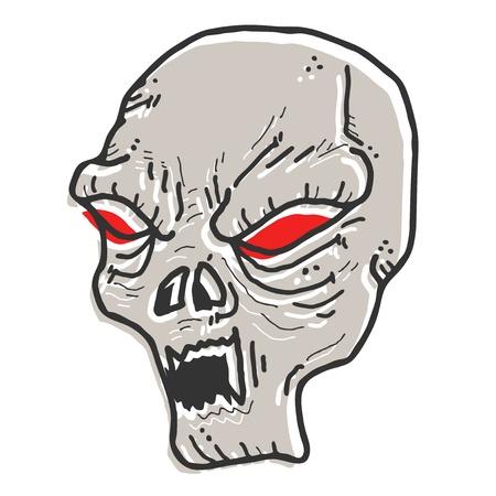 Terror mask Stock Vector - 14996842