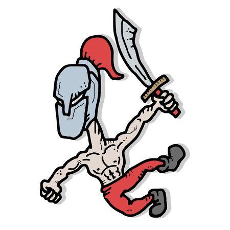 Sword attack Stock Vector - 14996864