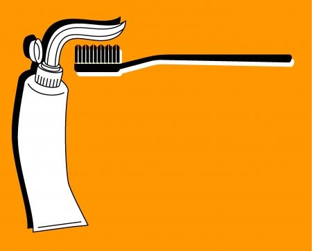 Dental clean Vector