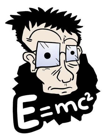 Science education man Vector
