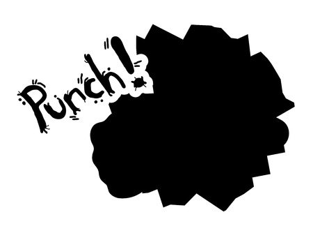 Punch stick Vector