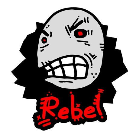 demented: Rebel expression