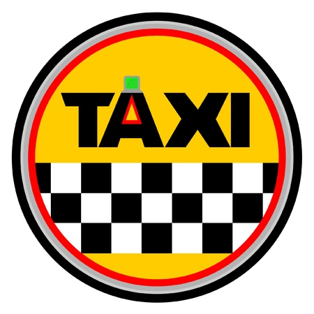 Taxi símbolo
