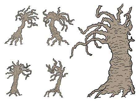 Terror tree Illustration