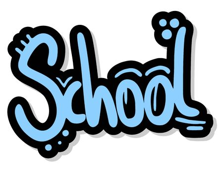 School stick Vector