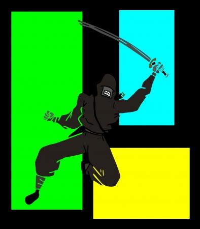 expressive style: Creative ninja
