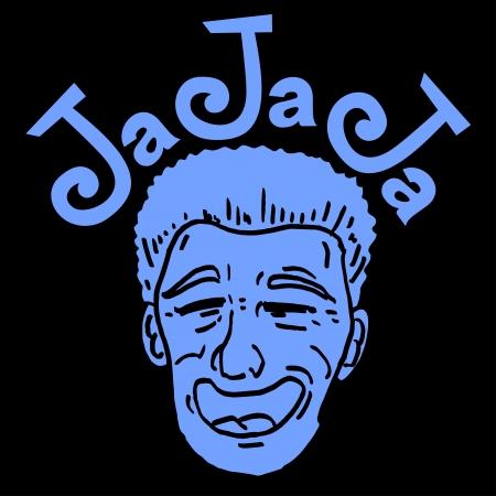 talkative: Joke face Illustration