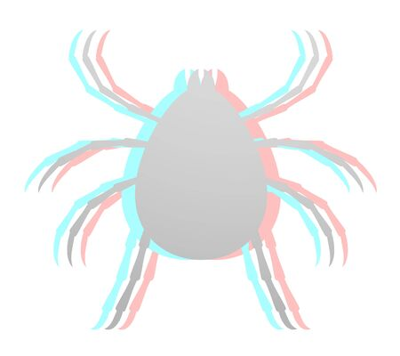 lyme: Insect effect Illustration
