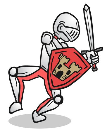 Medieval cartoon Vector
