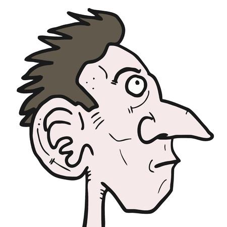 thin man: Ugly man