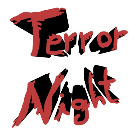 Terror night stick Stock Vector - 15600321