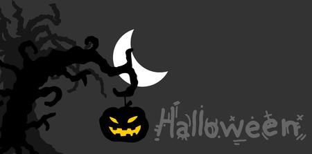 Night halloween card Stock Vector - 15694224