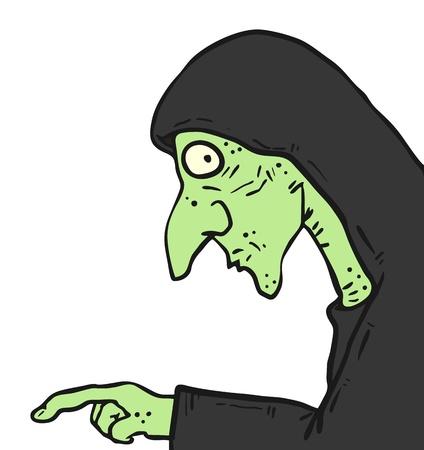 wart: Halloween mask