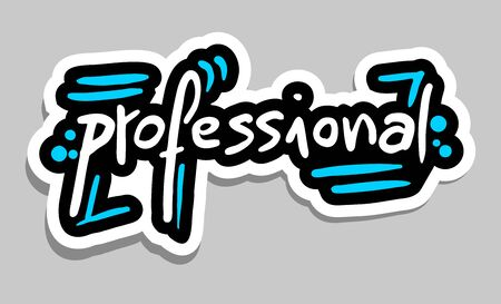 knowledgeable: Professional sticker