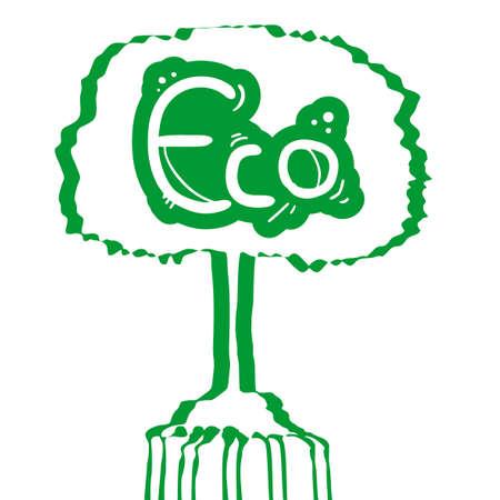 Eco tree Stock Vector - 15744154