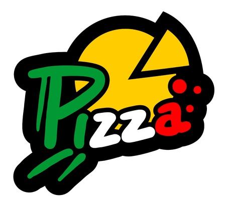 italian tradition: Pizza icon Illustration