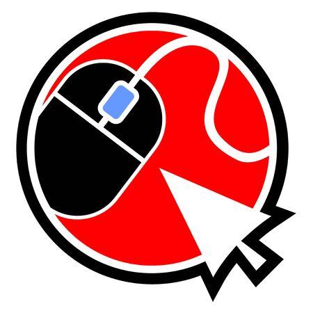clic: Cursor mouse icon