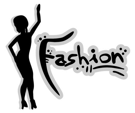 Fashion female woman Stock Vector - 15885043
