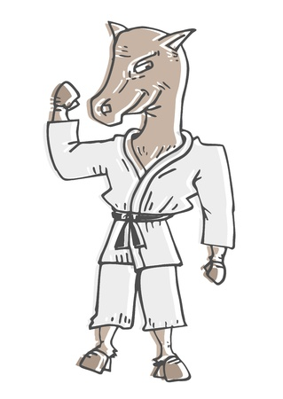 Strong horse Vector