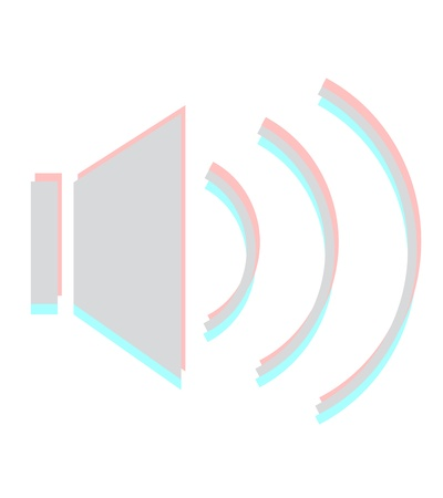 dimensinal: Sound effect Illustration