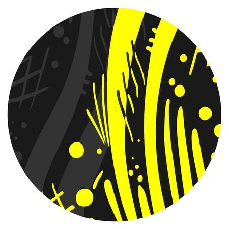 Button art Stock Vector - 15885070