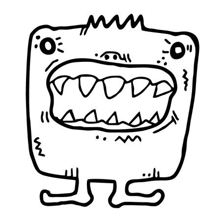 Small adorable monster Stock Vector - 16009510