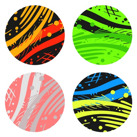 Art color circles Stock Vector - 16009602