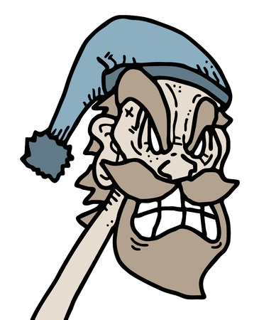 apnea: Crazy old man