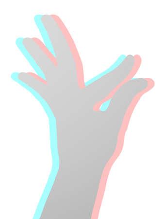Visual hand
