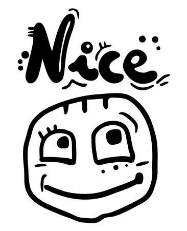 nice smile: Nice smile child