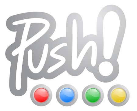 Color buttons push Vector