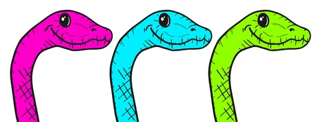 oviparous: Color snake