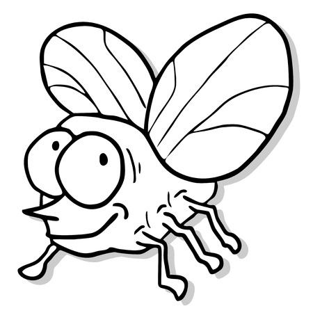 artoon: Smile bug Illustration