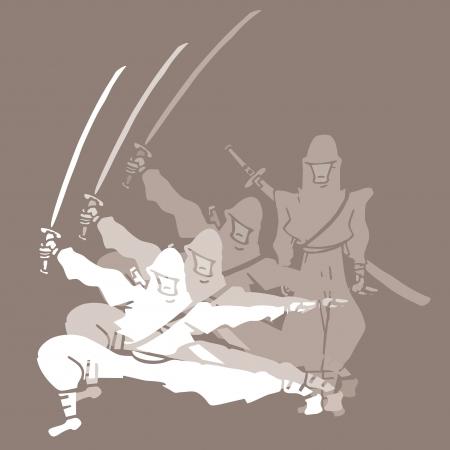 Creative ninja Stock Vector - 16187322