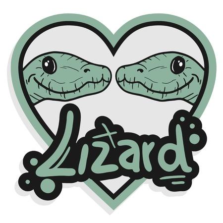 pretend: Lizard heart