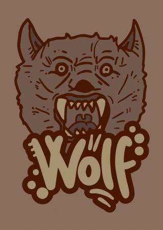 Wid wolf Stock Vector - 16315966