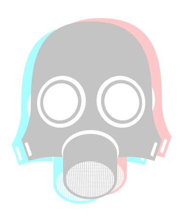 Nuclear mask Stock Vector - 16316002