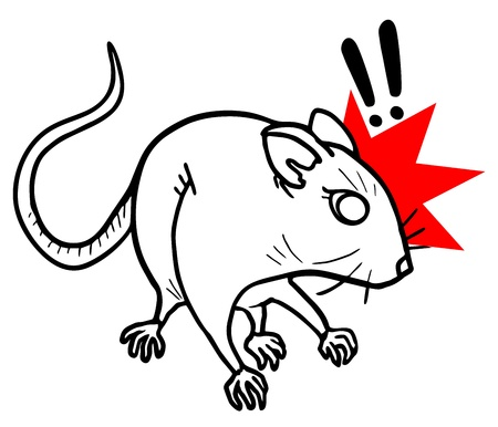Rat hazard Stock Vector - 16315958