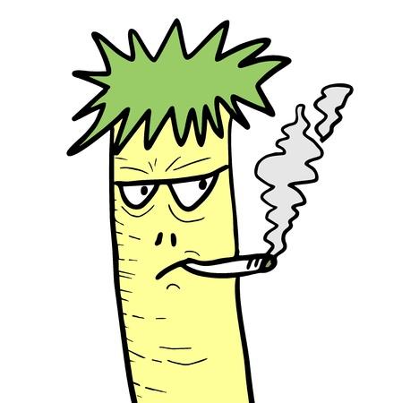 lowbrow: Smoke mask