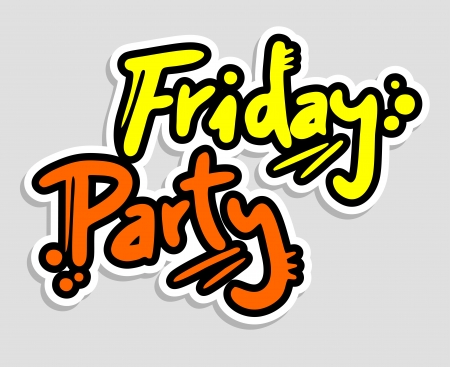 Friday Party Stock Vector - 16315923