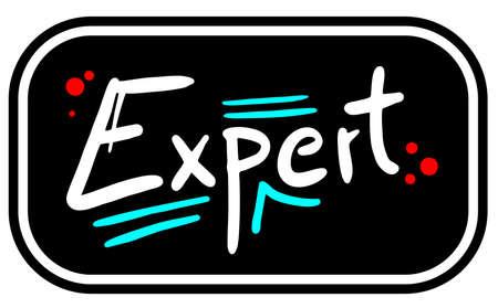 knowledgeable: Expert emblem