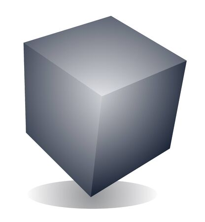 Cube symbol Stock Vector - 16496291