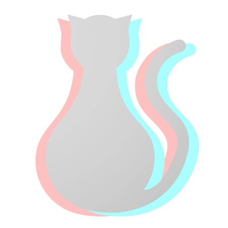 Creative cat Vector