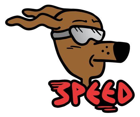 Speed dog Stock Vector - 16475989