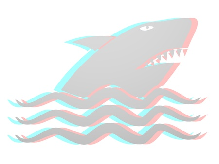 Shark design Stock Vector - 16475970