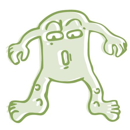 Green monster Stock Vector - 16475969