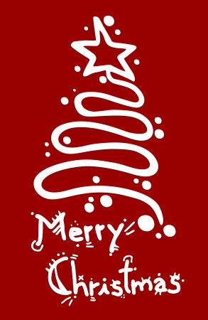 bułka maślana: Merry Christmas elegancki projekt karty